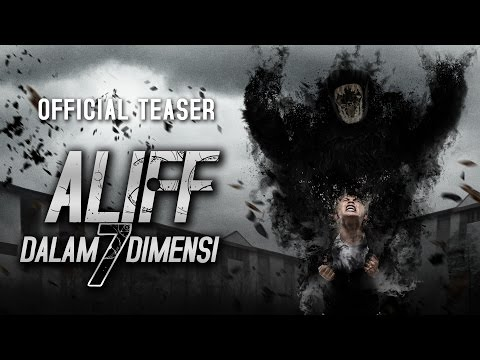 ALIFF DALAM 7 DIMENSI - Official Teaser 8 September 2016 [HD]