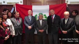 Tema:Saludo de autoridades a la selección peruana de fútbol