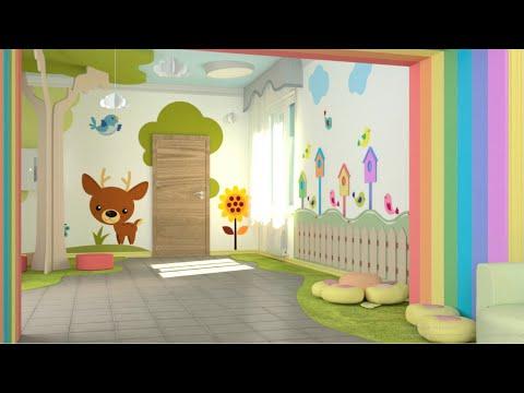 Оформление коридора в детском саду своими руками фото в едином стиле