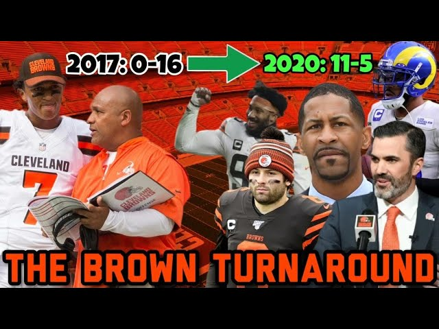 How the Cleveland Browns Went from 0-16 to 11-5 in 4 Seasons