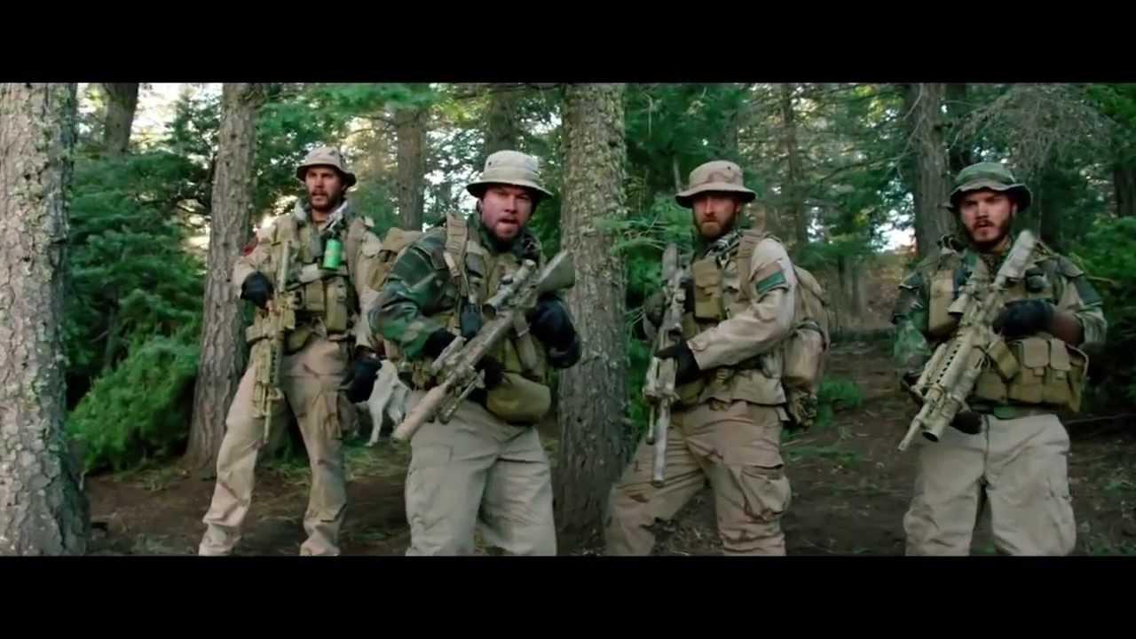 Lone Survivor Official Trailer #1 2013) Mark Wahlberg Movie HD - YouTube