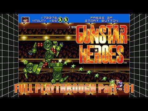 Gunstar Heroes Playthrough - SEGA Mega Drive and Genesis Classics on Steam - Ep-01 thumbnail
