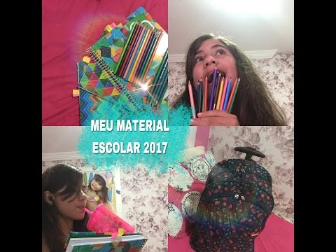 Material Escolar 2017-Projeto Yug