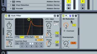 MMS : ABLETON TUTORIAL : The Redux Device
