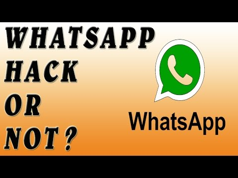 How to Find your whatsapp Hack or Not 2016!