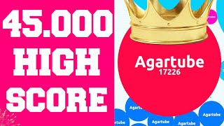 Agar.io ★ 45.000 Highscore ★ Amazing Team Gameplay !