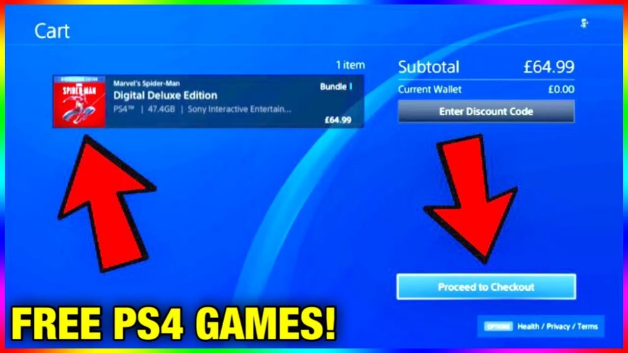 How To Get Any PS9 Game For FREE Method 9 - How To Get PS9
