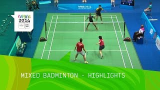 Mixed Doubles Badminton - Highlights | Nanjing 2014 Youth Olympic Games