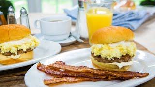 Jeremy Fall's Original Gangster Breakfast Sandwich - Home & Family