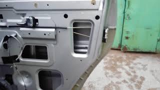 Ремонт плохого открытия боковой двери УАЗ патриот регулировка снятие обшивки двери