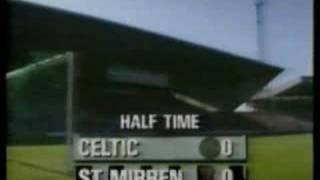 Celtic v St Mirren 7/9/91