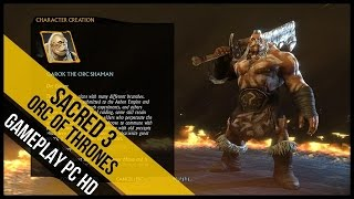 Sacred 3 Orcland Story Addon Gameplay (PC HD)