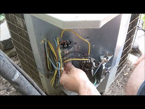 Bryant 561CJ030 B Fan Not Spinning Air Conditioner Capacitor