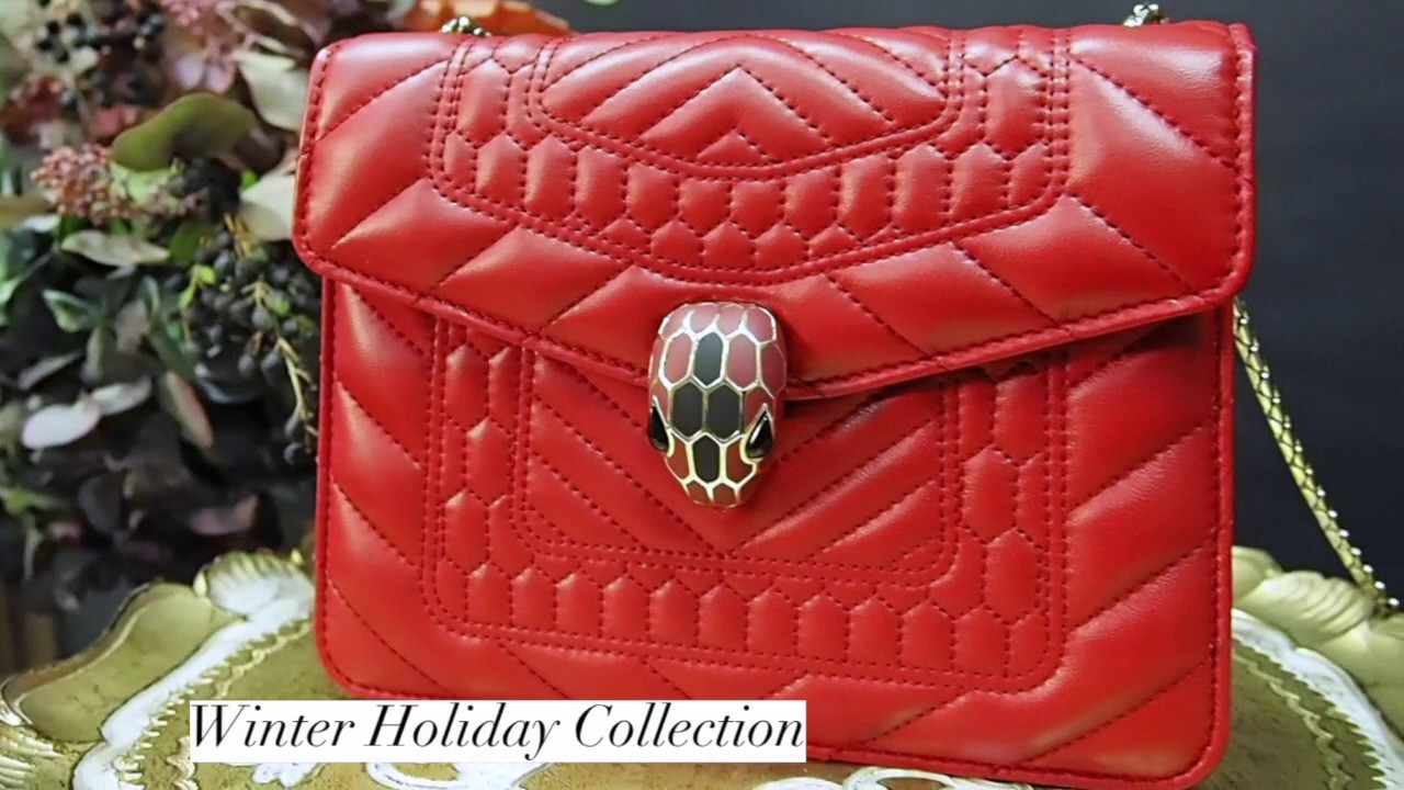Review  Bulgari Serpenti handbags – Winter Exclusive Collection ... e89299f8aaa
