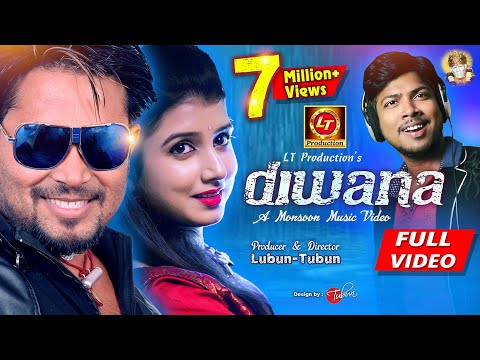 DIWANA || Odia Monsoon Music Video || Studio Version || Diptirekha & Debesh || Lubun-Tubun