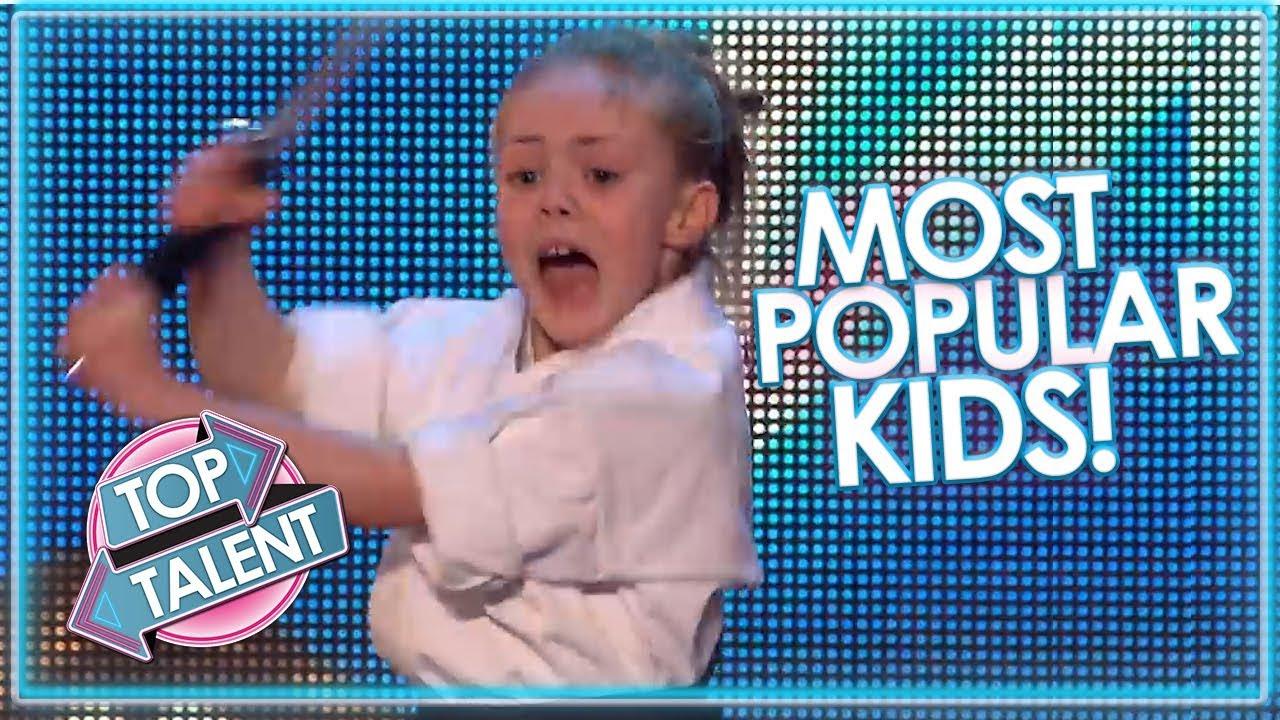 MOST POPULAR KIDS On Britain's Got Talent! | Top Talent