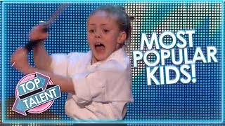 MOST POPULAR KIDS On Britain's Got Talent! | Top Talent
