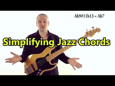 Simplifying Jazz Chords