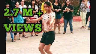 iit mumbai girl dance on street flash mob by iit mumbai girls 2017