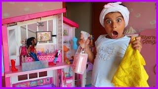 Rüya'nın Barbie Evinde Yaz Temizliği | Rüya'nın Çiftliği