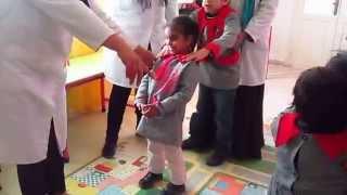 Centre Dorra pour autisme et Trisomie21 - Kairouan : Séance d