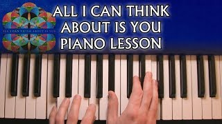 How to play Coldplay - All I Can Think About Is You on piano (Studio + Live)