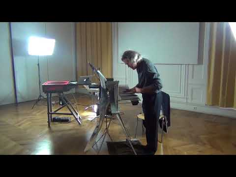 Eric Satie, 3ème gnossienne, Michel Deneuve au Cristal Baschet