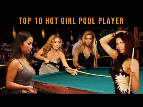 Top 10 Most Attractive Female Pool Players