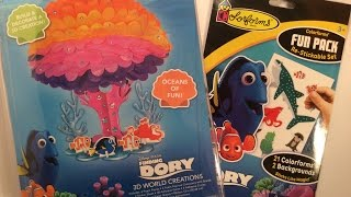 Finding Dory 3D craft and Fun Pack Finding Dory Movie Finding Nemo MovieTheme