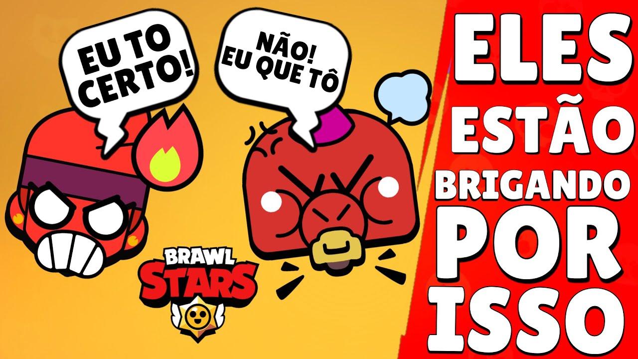 JOGADORES da COMUNIDADE de BRAWL STARS ESTÃO BRIGANDO! ENTENDA: