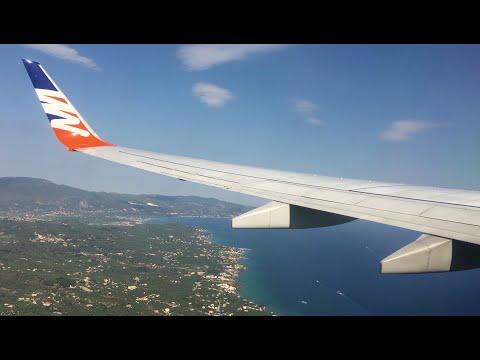Flight from Zakynthos (Greece) to Prague