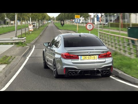 750hp Stage 2 BMW M5 F90 Competition - LOUD Revs And Accelerations With Pops And Bangs!