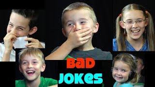 Trick Shot Titus Bad Joke Telling | A 'You Laugh, You Lose' Sibling Rivalry
