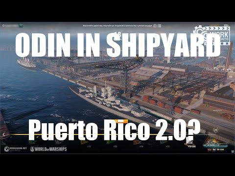 Odin In Hamburg Shipyard - Puerto Rico 2.0?