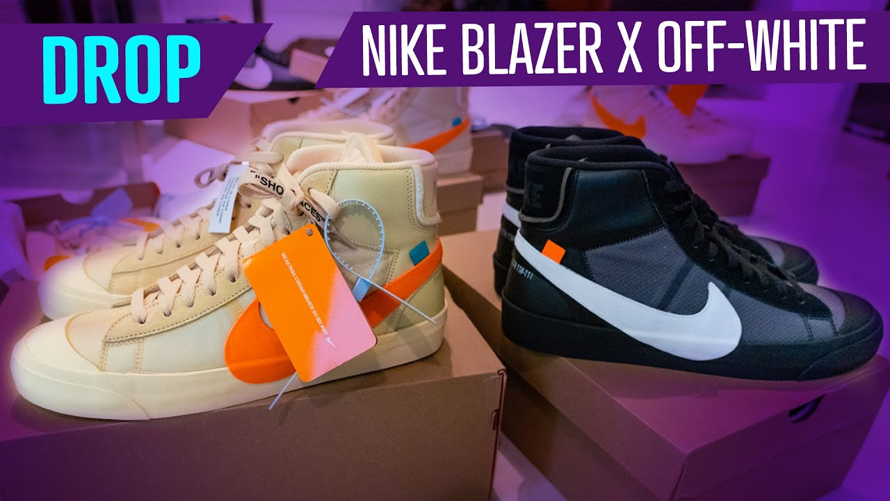 premium selection 60aba 521df DROP - NIKE BLAZER MID X OFF-WHITE