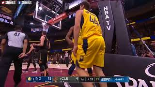 Cleveland Cavaliers vs Indiana Pacers 1st Qtr Highlights / Game 1 / 2018 NBA Playoffs