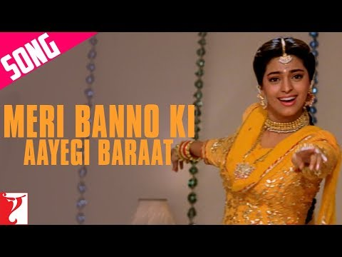 Meri Banno Ki Aayegi Baraat Song | Aaina | Juhi Chawla | Amrita Singh | Pamela Chopra
