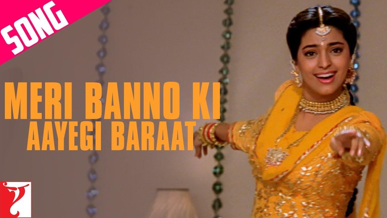 Meri Banno Ki Aayegi Baraat Song   Aaina   Juhi Chawla   Amrita Singh    Pamela Chopra