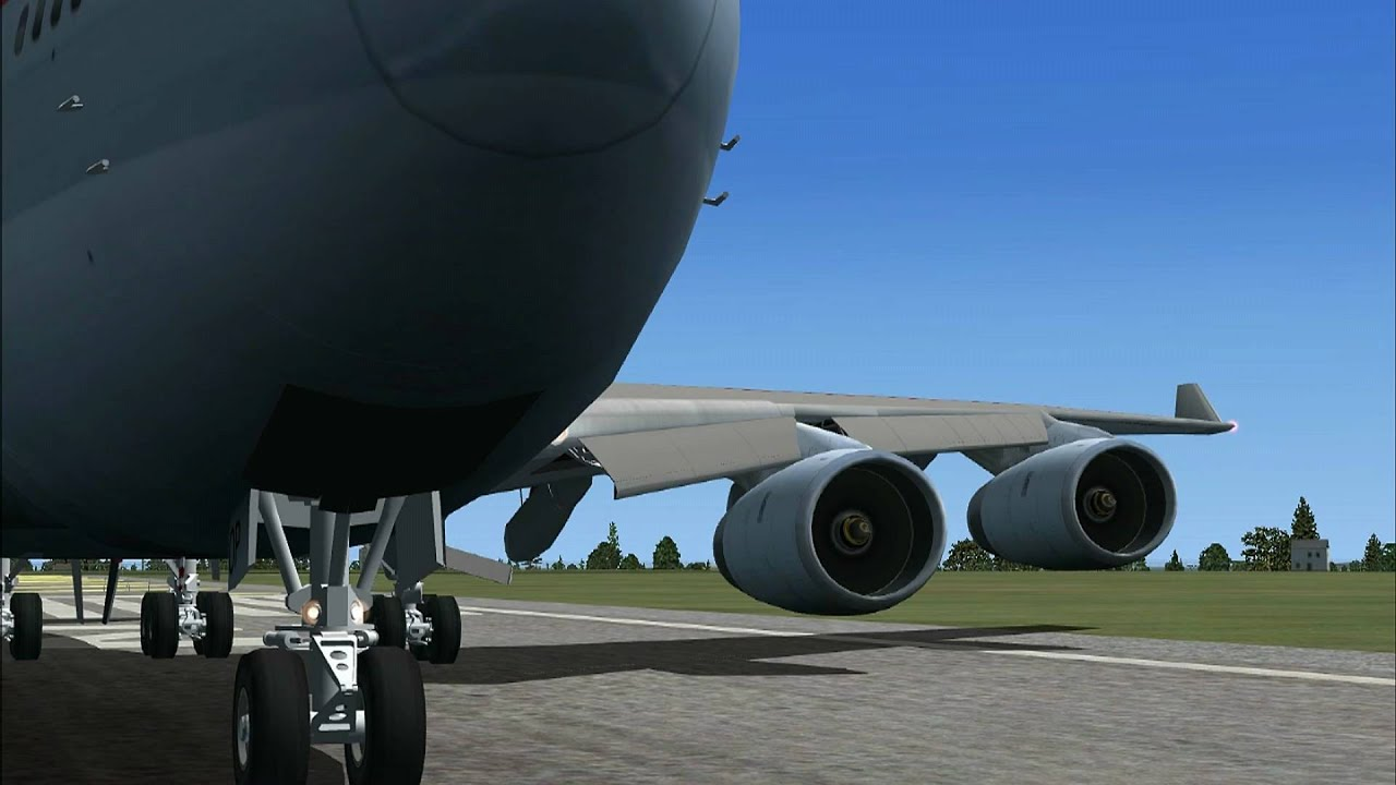 TSS Boeing 747 RR-RB211 FSX Sound ( HD-quality )
