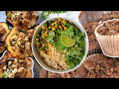 EASY FALL RECIPES | Healthy + Vegan + Oil-Free