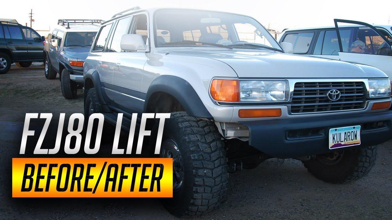 Toyota Land Cruiser Fj80 Lift Kit