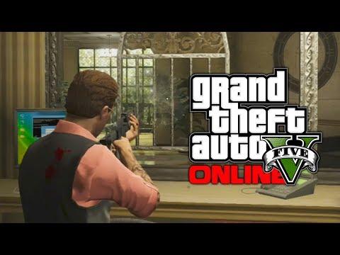 GTA 5 Online: Pacific Bank Heist - Custom Ornate Bank Heist! (GTA V)