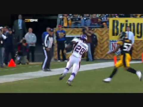 Adrian Peterson's thoughts on big hit