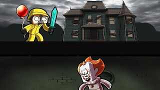 Minecraft - BUILD TO SURVIVE IT THE CLOWN! (Pennywise House)
