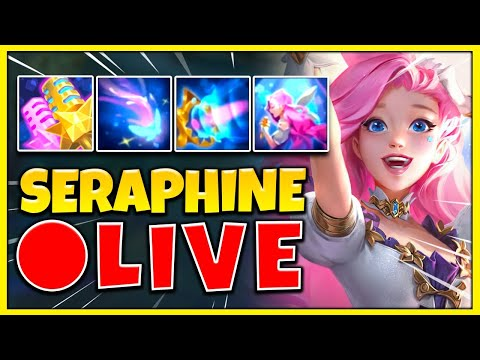 NEW CHAMPION SERAPHINE GAMEPLAY! THE MOST BROKEN MID / SUPPORT EVER RELEASED – League of Legends