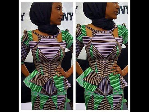 Latest Nigerian Ankara Styles : Creative Combinations Ankara Styles