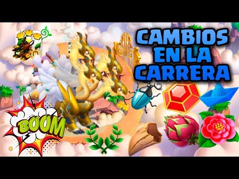 CAMBIOS BUENOS en la CARRERA HEROICA CELESTIAL!😉 - Dragon City #84