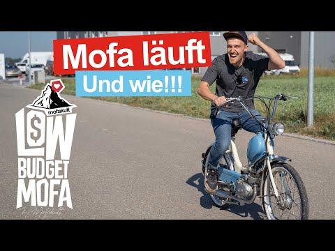 DAS ERSTE MAL AUF DER STRASSE | Low Budget Mofa