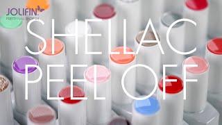 Jolifin LAVENI Shellac PeelOff / Nailart mit Farbe make-up