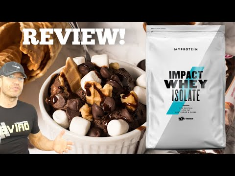 best-myprotein-isolate-flavor-review-|-rocky-road-&-chocolate-brownie